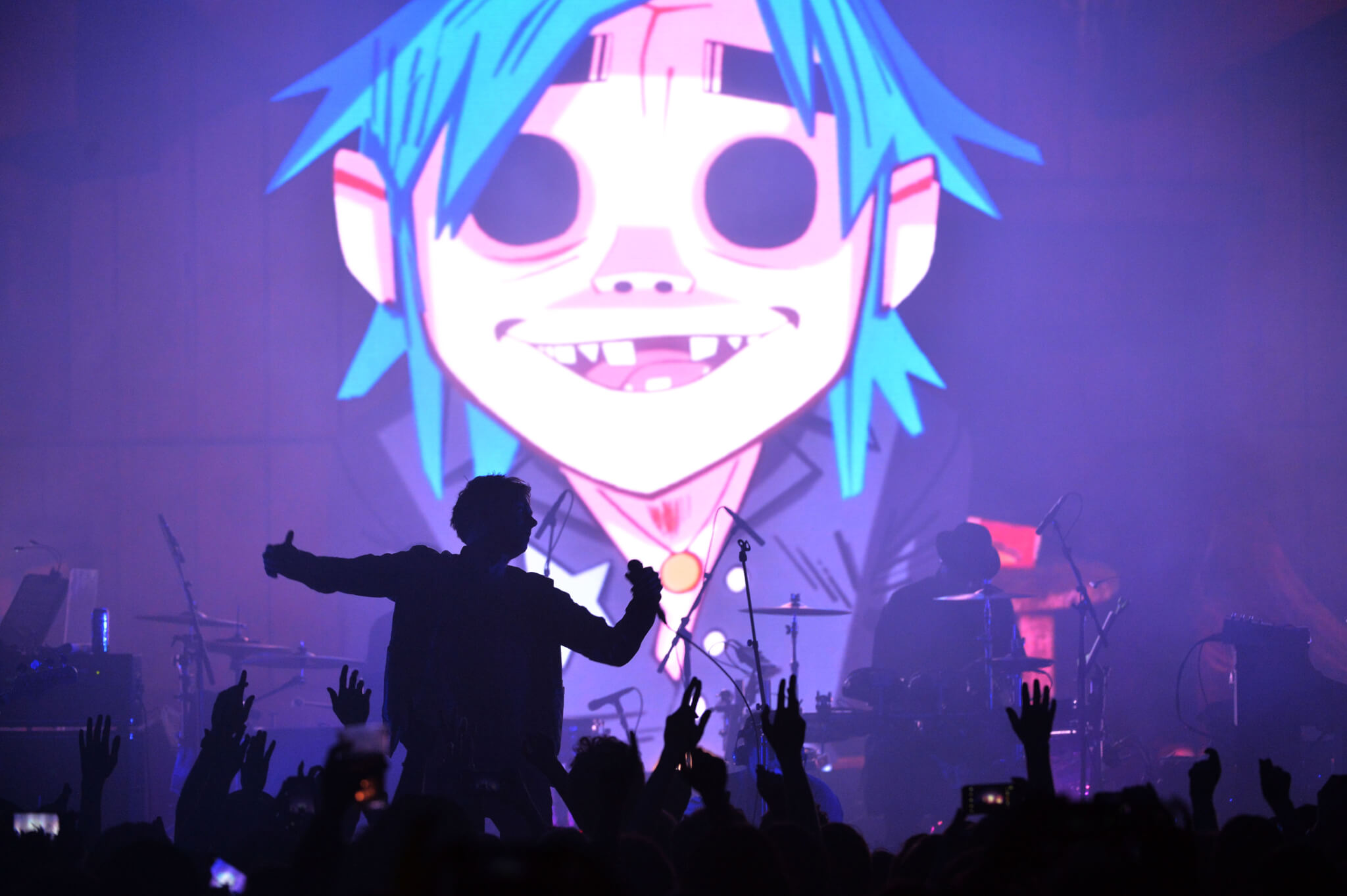 HUMANZ PLAYED LIVE IN FULL AT PRINTWORKS