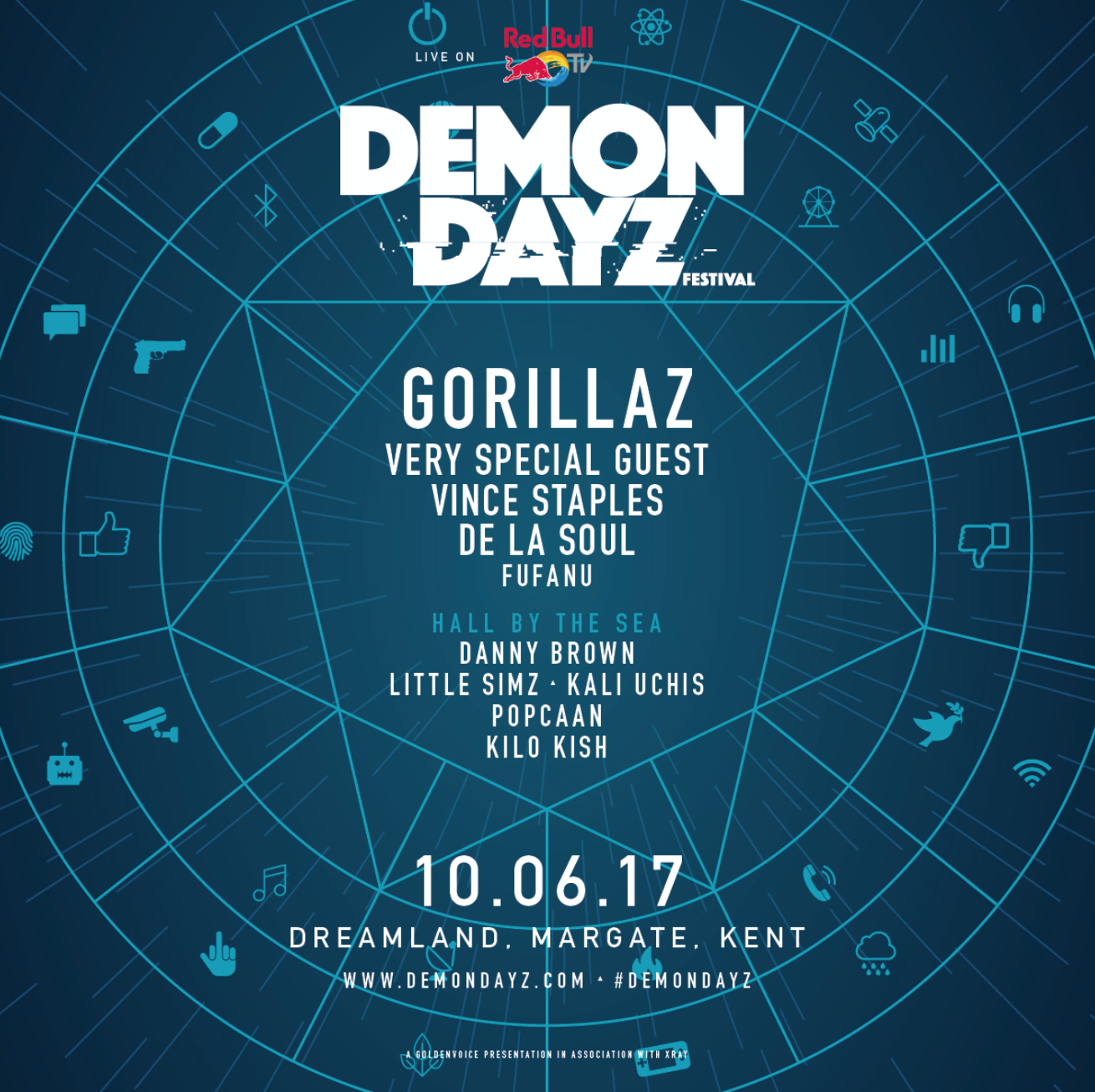 DEMON DAYZ FESTIVAL – LINE-UP ANNOUNCED