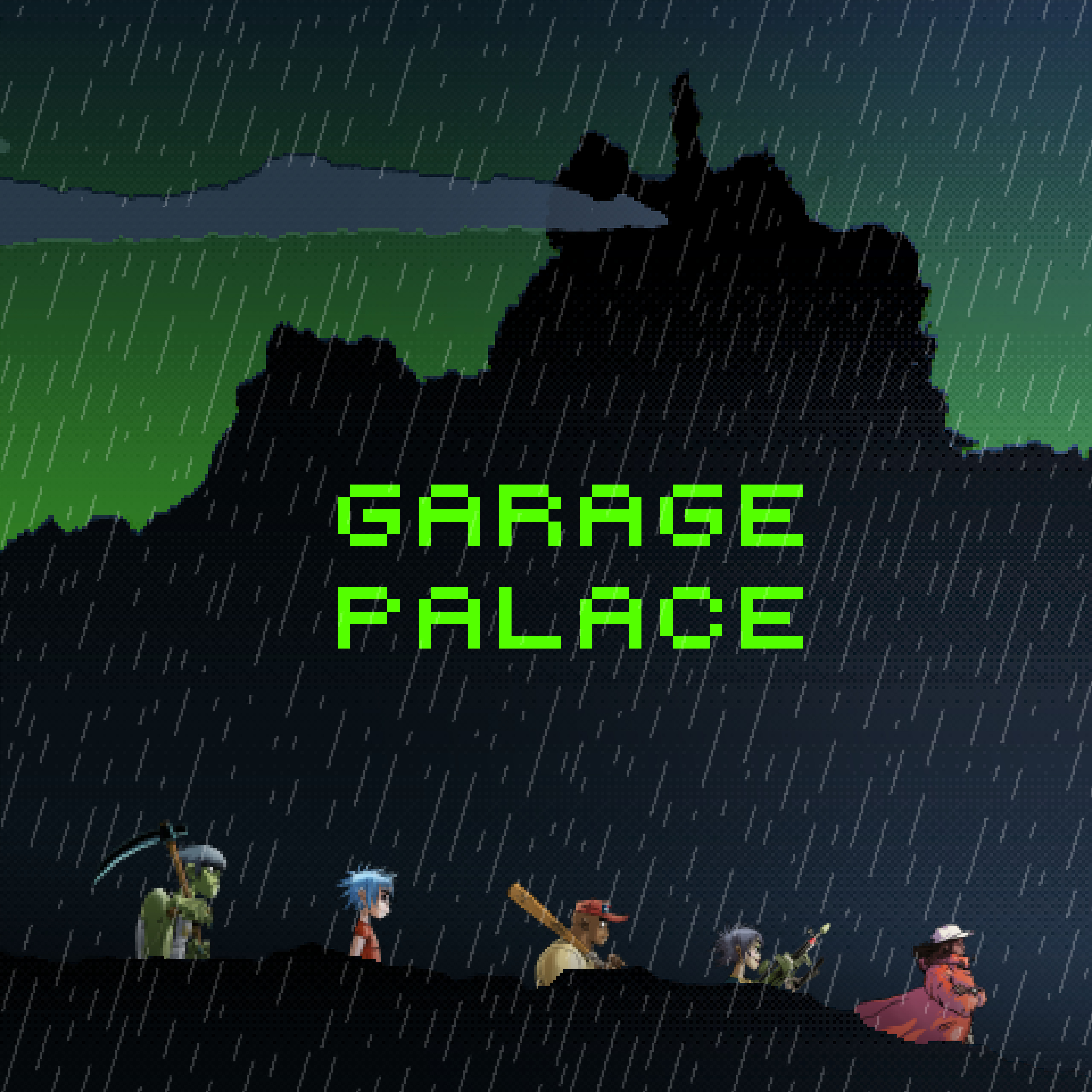 GARAGE PALACE HAS ARRIVED