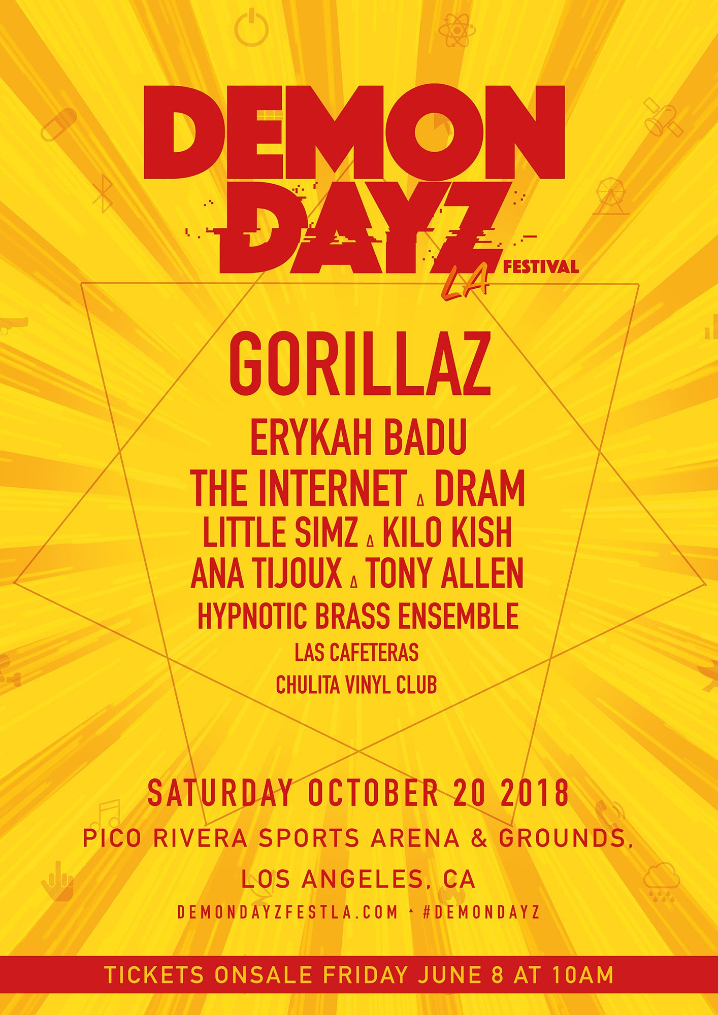 DEMON DAYZ FESTIVAL 2018 & NEW TOUR DATES