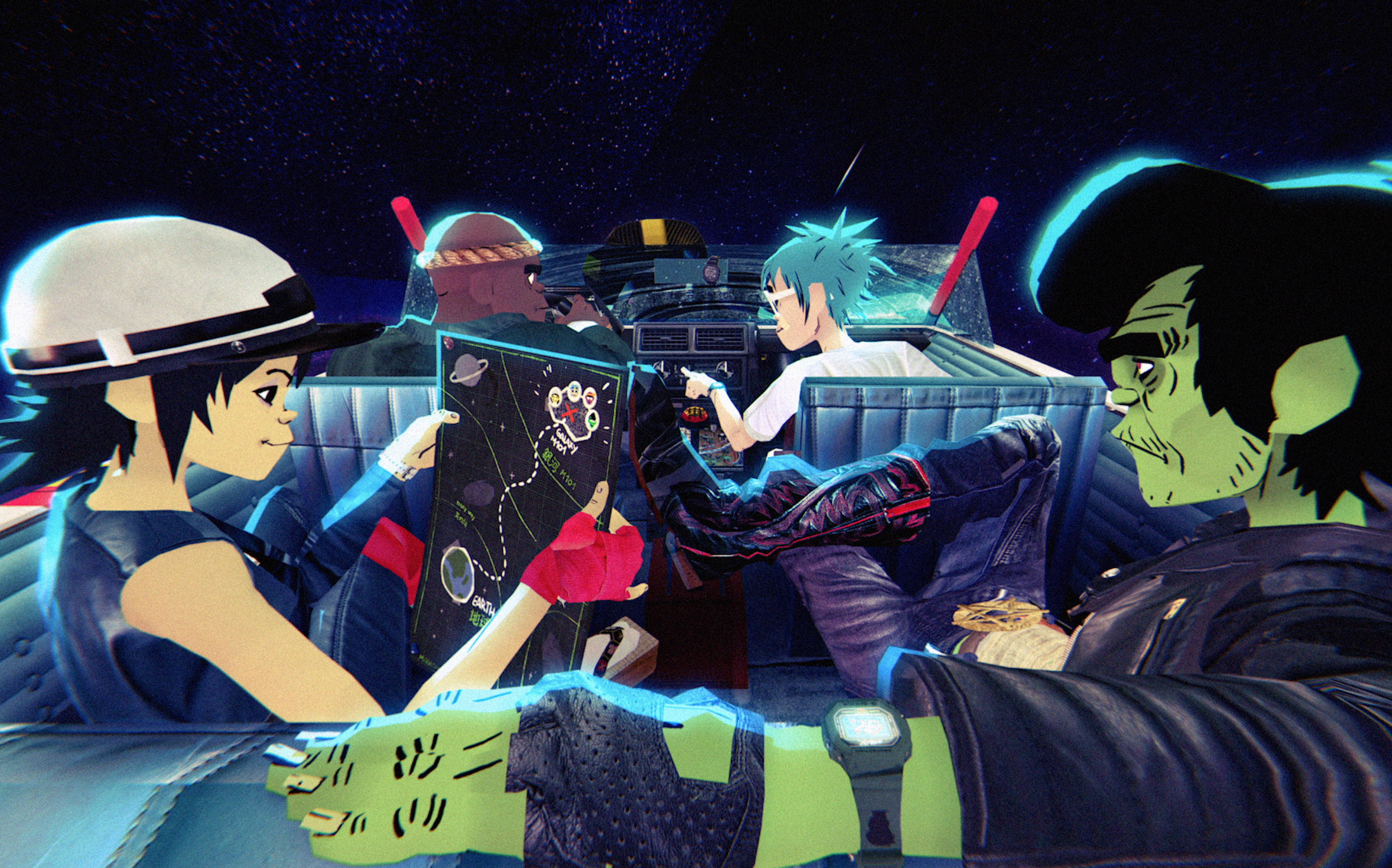 WATCH PART 2 OF GORILLAZ' MISSION IN SPACE