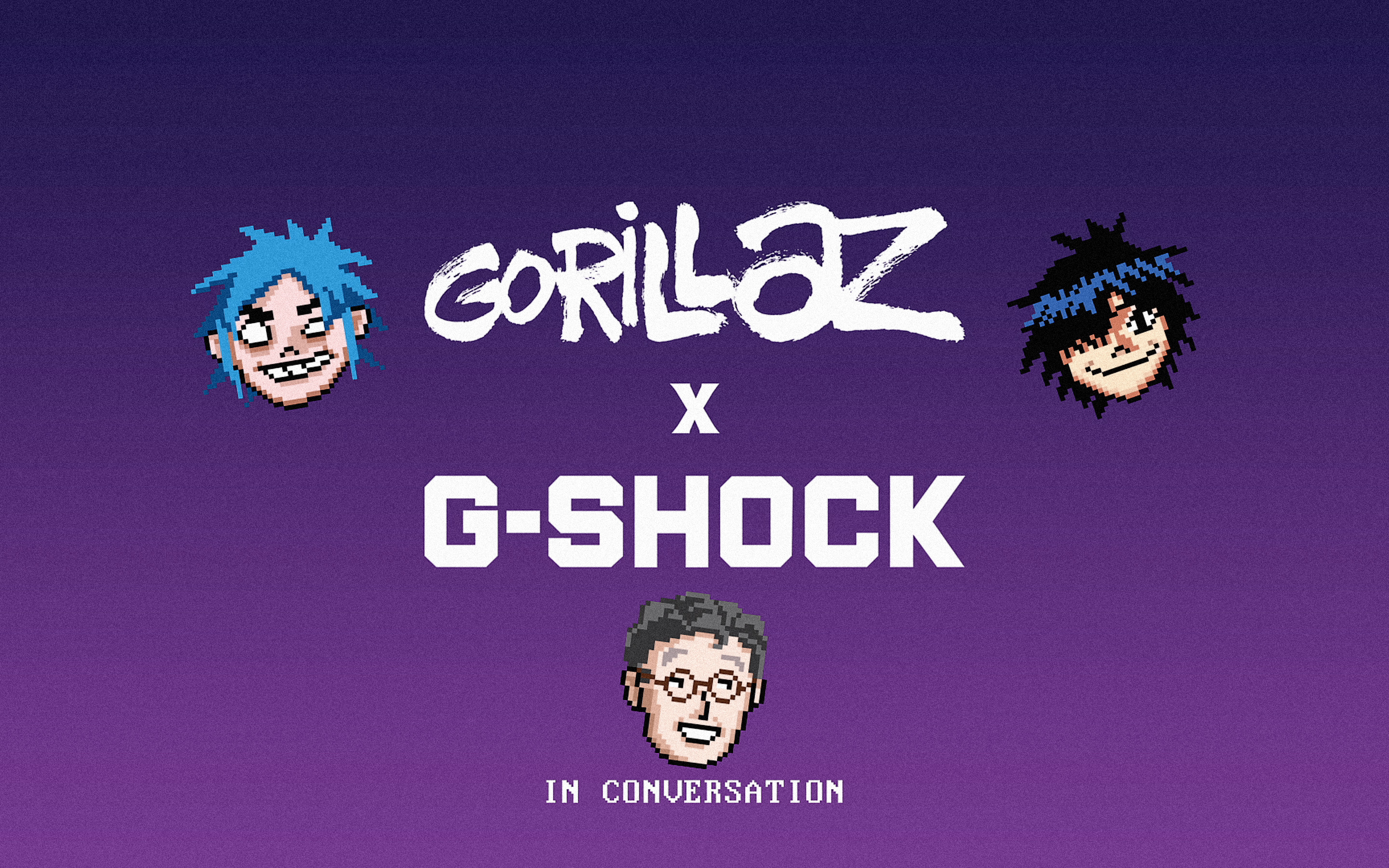 Gorillaz x G-Shock – In Conversation + Russel and Noodle Watches